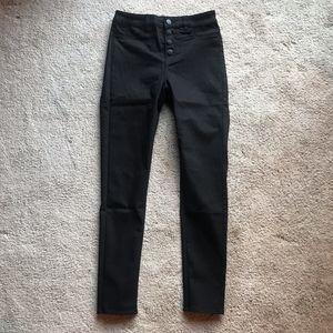 NEW H&M Hight Waisted Button Pants Sz 8
